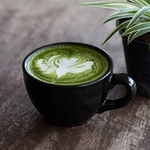 Indian Ceramic  Jumbo  Coffee  Mug  - 400 ML - Black , Set of 3