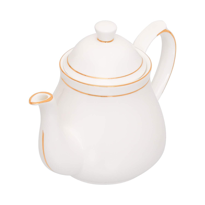 Bone China Golden Line Carafe/ Tea Pot/ Tea Kettle