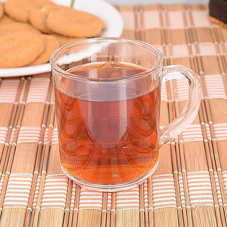 Clear Glass Nora Tea Mug 200ml