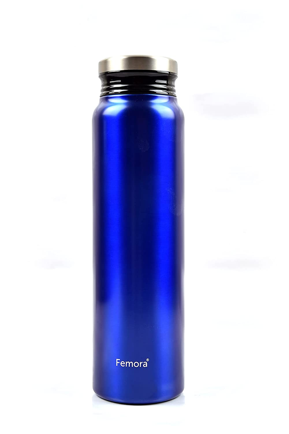 Thermosteel Vacuum Stainless Steel Bottle - 750 ML, Blue , 12 hrs HOT and Cold