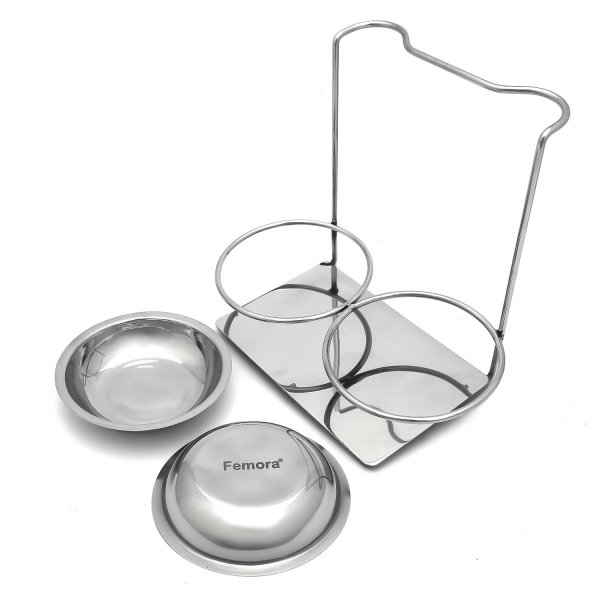 Stainless Steel Laddle Holder Rest