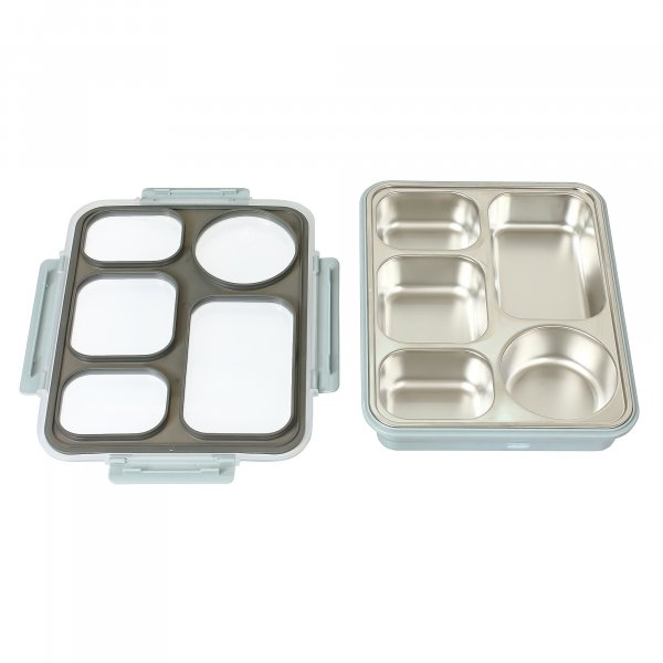 High Steel Rectangle Lunch Box Container for Office - (Not LeakProof)