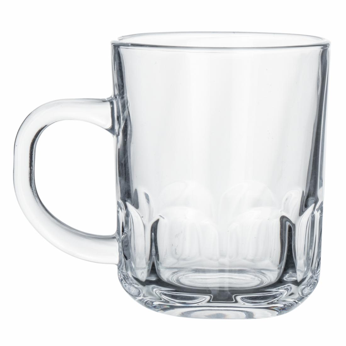 Indian Glass Crown Tea Cup 210 ML