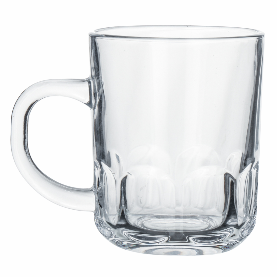 Indian  Glass Crown Tea Cup  Coffee Cup 210 ML
