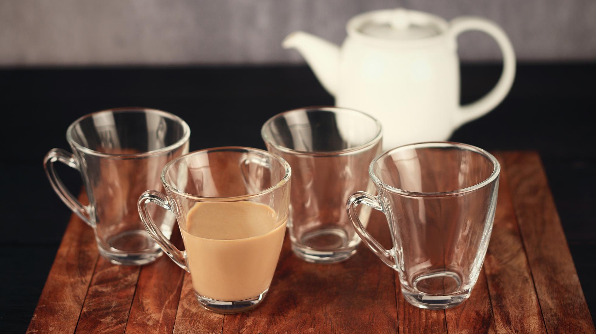 Indian  Glass Clove Tea Cup Coffee Cup 210 ML