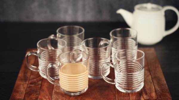 Indian Glass Ring Tea Cups 220 ML