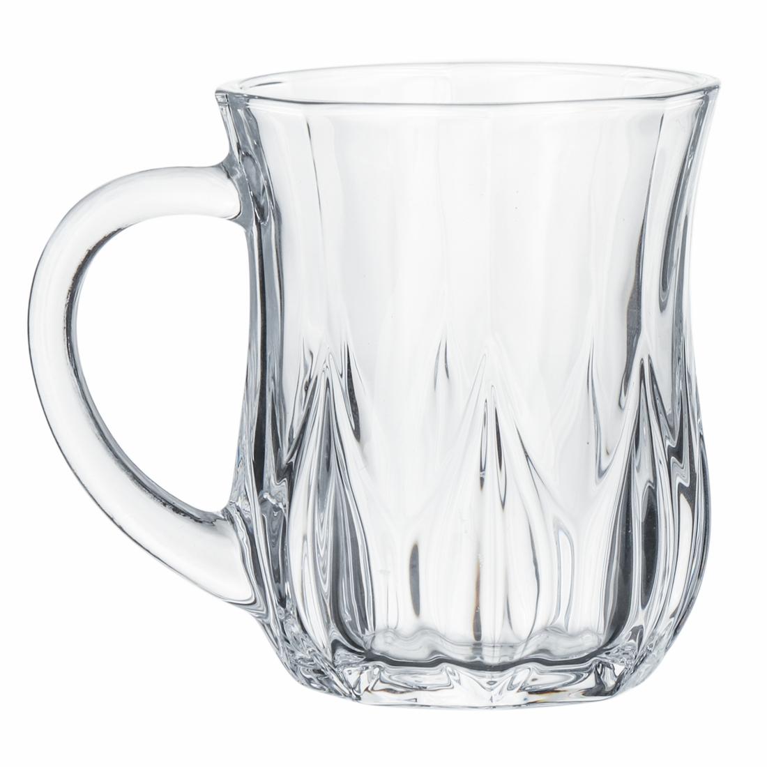 Indian Glass Aqua Tea Cup 145 ML