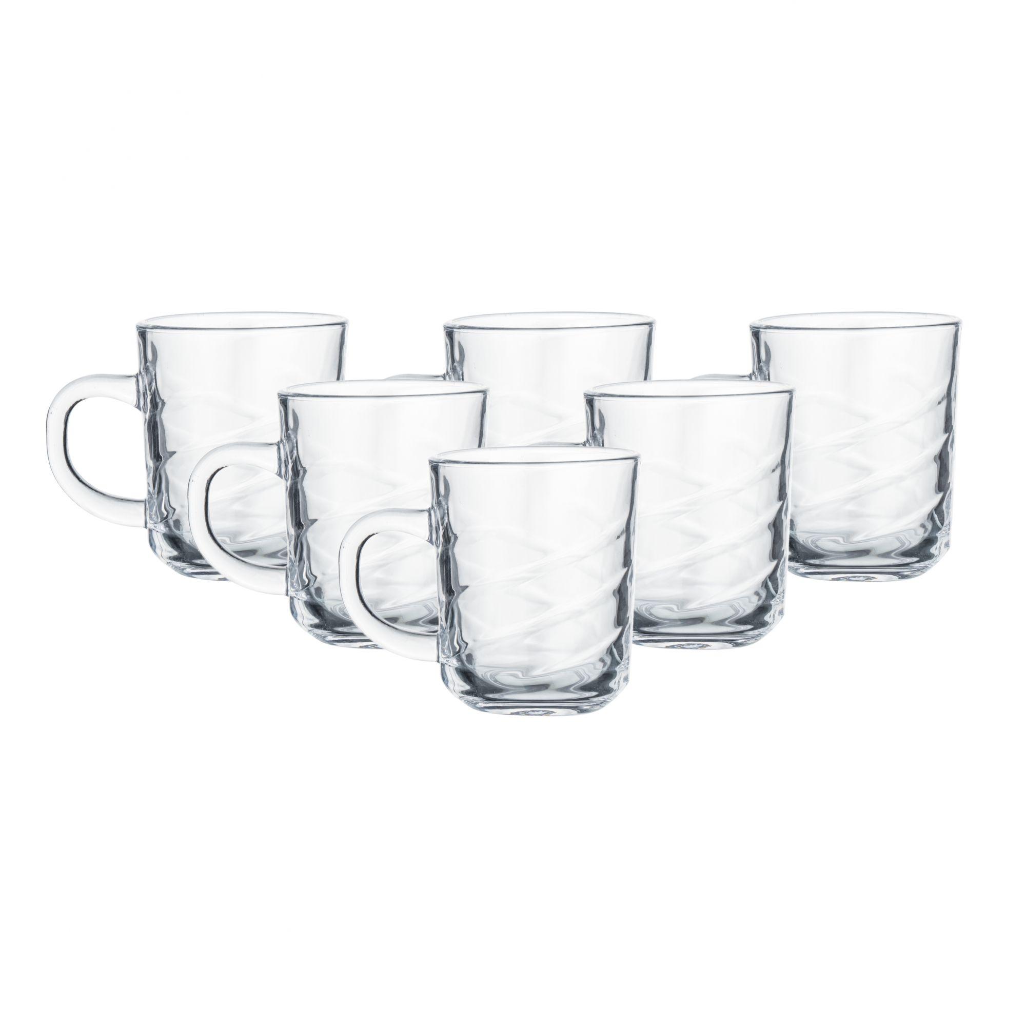 Indian Ceramic Glass  Cross Tea  Cup  220 ML