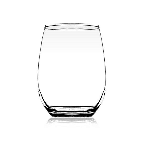 Clear Glass Scotch Juice Tumbler - 320ML, Set of 4