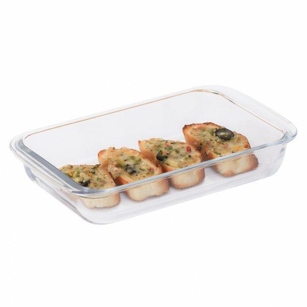Borosilicate Glass Rectangular Dish-1000ml