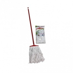 Cotton Mop (350g) With Wooden Handle 120cm