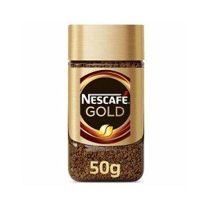 Nescafe Gold Premium Soluble Coffee 50g
