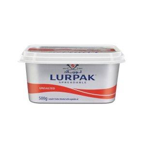 Lurpak Spreadable Butter Unsalted 500g