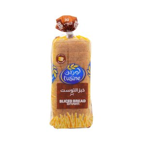 Lusine Sliced Bread Brown 600gm