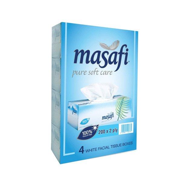 Masafi Soft Tissues 200x2 Ply - 4pk