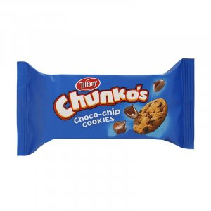 Tiffany Chunko's Choco-chip Cookies 40g