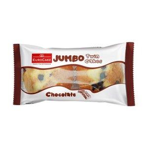 Eurocake Jumbo Swiss Roll Double Chocolate 60gm