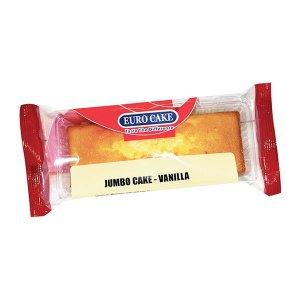 Eurocake Jumbo Swiss  Roll Vanilla 60gm