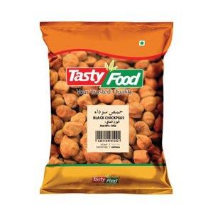 Tasty Food Black Chickpeas 1kg