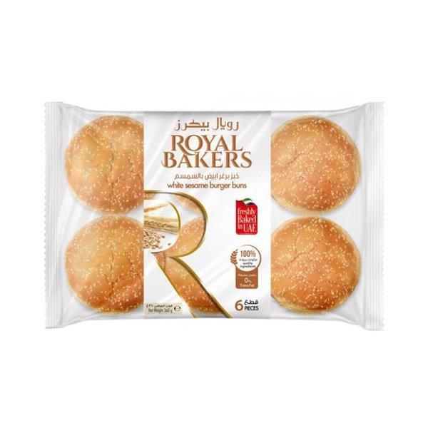 Royal Bakers White Seame Burger Bun 360gm