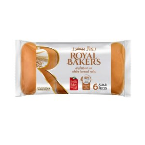 Royal Bakers White Bread Roll 260gm