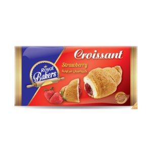 Royal Bakers Croissant Strawberry 55gm