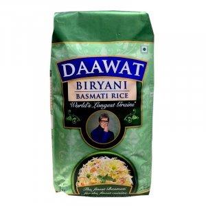 Daawat Extra Long Grain White Indian Basmati Rice 2kg