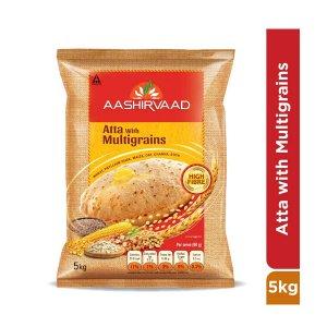 Ashirwad Multi Grain Atta 5kg