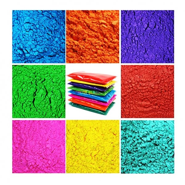 Assorted Colors (9 Colors X 100g Each), (per Color  - 2.5 Aed)