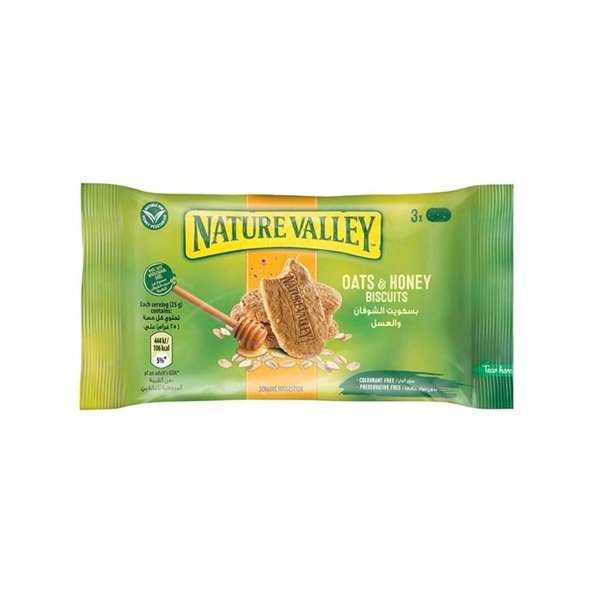 Nature Valley Biscuits Oats & Honey 25gm