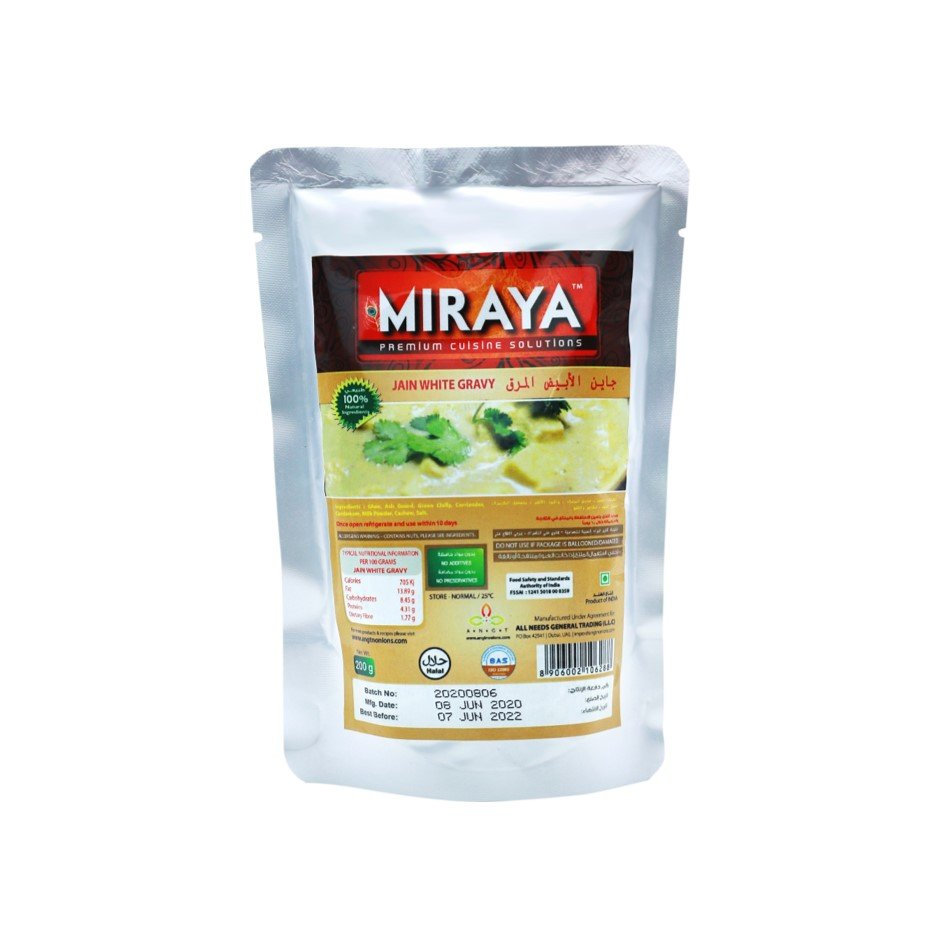 Miraya Jain White Gravy 200g