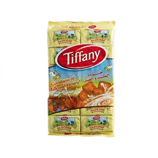 Tiffany Glucose Milk & Honey Biscuits, 50g (Pack of 12)