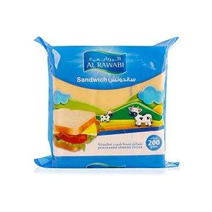 Al Rawabi Cheese Slices 200g