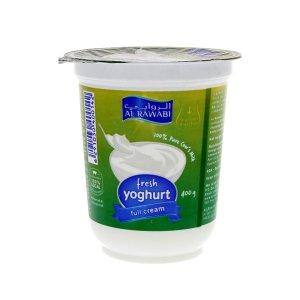 Al Rawabi Full Cream Youghurt 400g