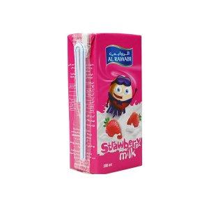 Al Rawabi Strawberry Fresh Milk - 200 Ml