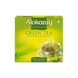Alokozay Green Tea 200g Pack Of 100 Tea Bags