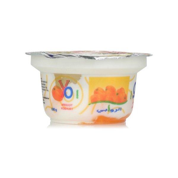 Alrawabi Yoghurt Apricot 130g