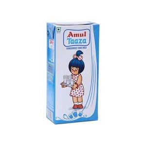 Amul Taaza Toned Milk 1l