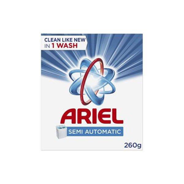 Ariel Laundry Powder Detergent Original Scent 260 G