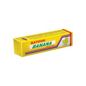 Batook Banana Flavored Chewing Gum, 5 Pcs  12.5 Gm