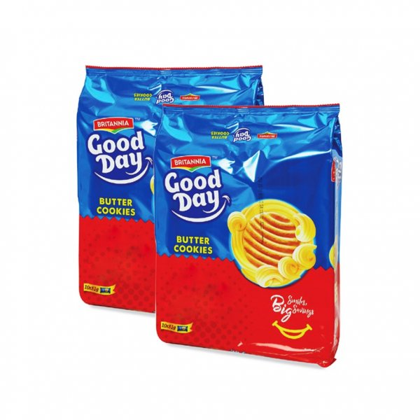 Britannia Good Day Butter Cookies 10 x 81g (1 packet)