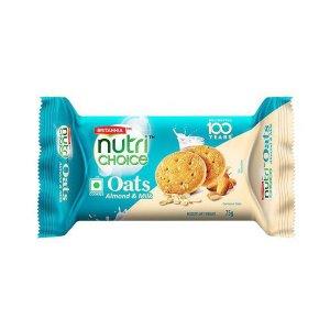 Britannia Nutri Choice Oats Almond Milk 75gm