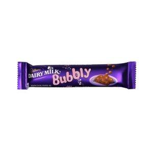 Cadbury Dairy Milk Bubbly Chocolate 28g