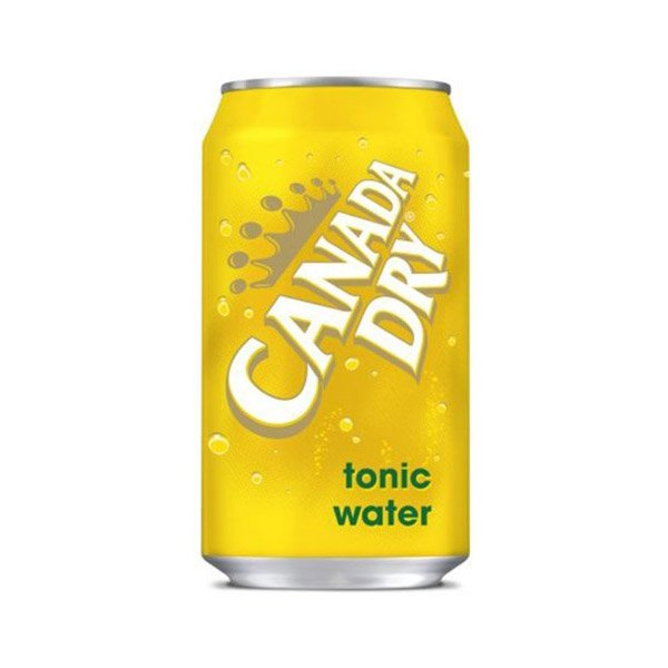 Canada Dry Tonic Water Carboanted Soft Drink Can 355ml