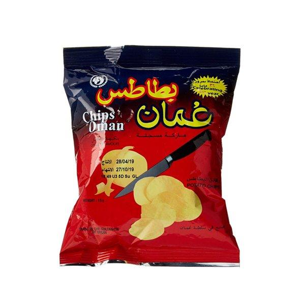 Chips Oman Potato Chilli Flavour 15g