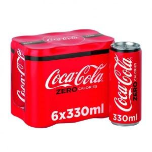 Coca Cola Zero 6 X 330ml