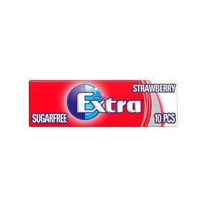 Extra Strawberry Chewing Gum Sugar 14g