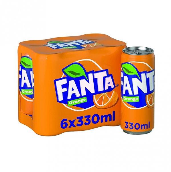 Fanta 6 X 330ml