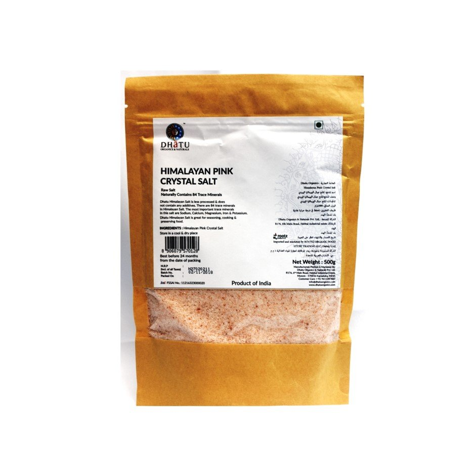 Himalayan Pink Salt 500g