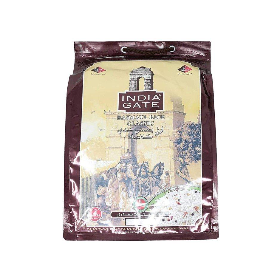 India Gate Classic Basmati White Rice 5kg+1kg FREE